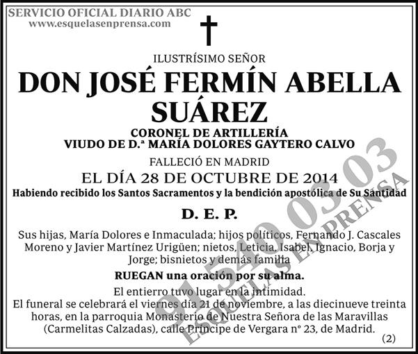 José Fermín Abella Suárez